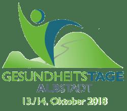 LogoGesundheitstageAlbstadtDatum - 13.-14.10.18 Messe Gesundheitstage Albstadt