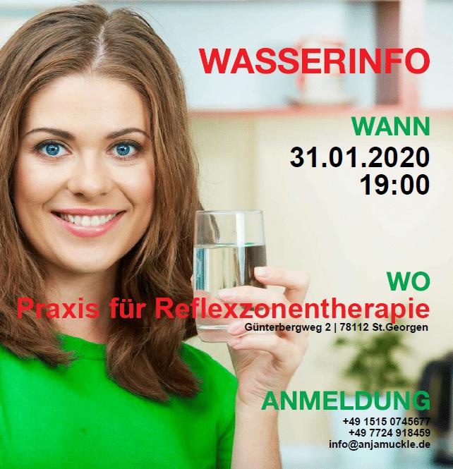 Wasserinfo Jan 2020 - 31.01.2020 Vortrag Wassertankstelle